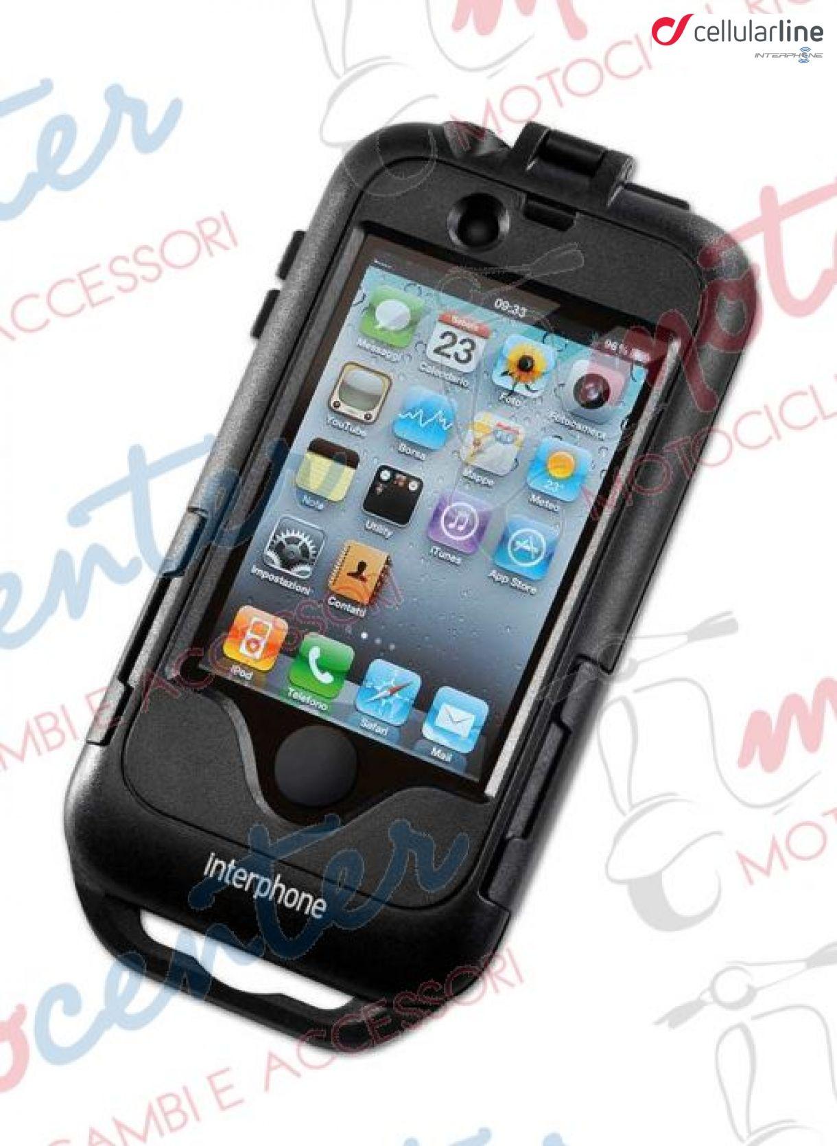 SMIPHONE7PLUS Cellular Line custodia da moto per Iphone 7 Plus