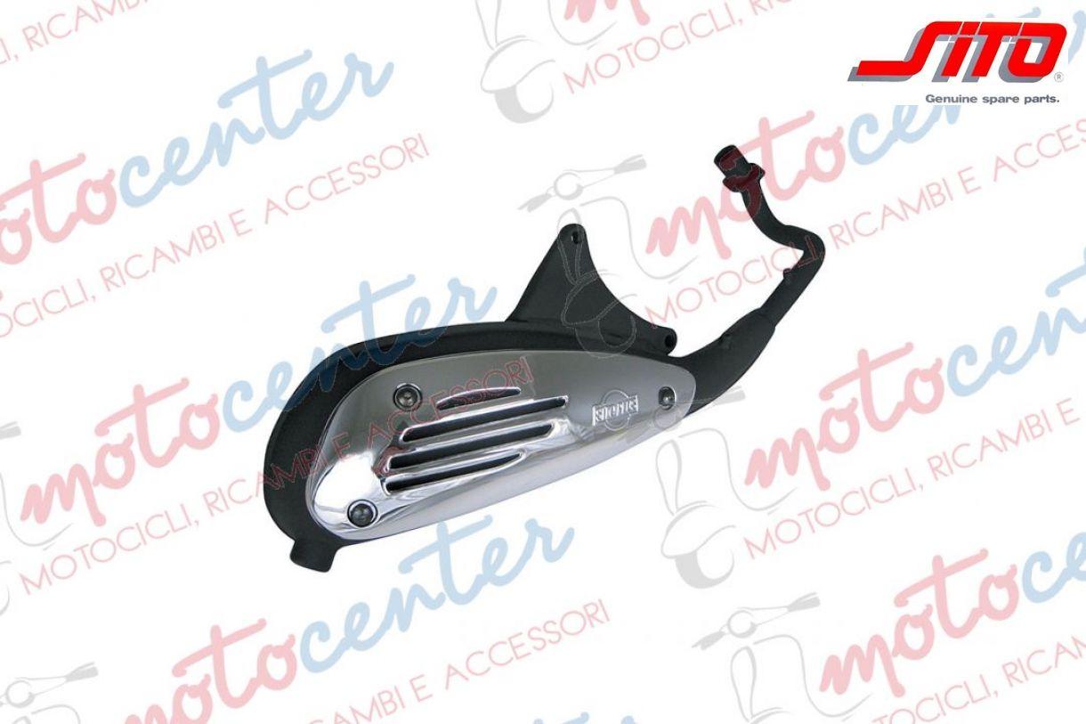 Auspuff ORIGINAL PIAGGIO Vespa LX 125 ET4 150 Liberty 200 ccm