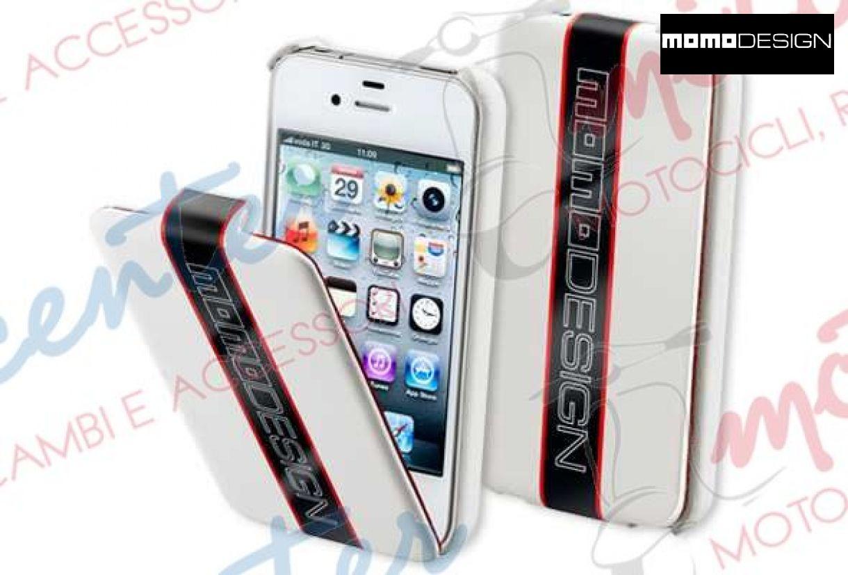 CUSTODIA RIGIDA NERA MOMO DESIGN PER IPHONE 4/4S cod