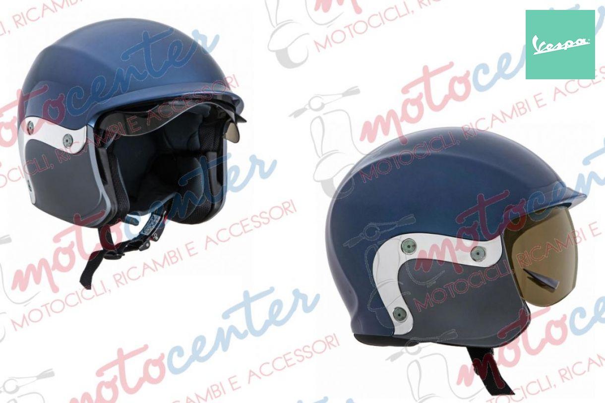 Details about 6857- Glasses Helmet Brown Original Piaggio vespa Vintage  Rider Glasses